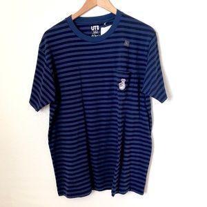Uniqlo Men's Striped Tee Shirt ft. Pieter Ceizer